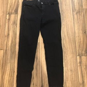 Just Black High Rise Skinny Jeans